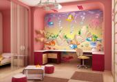Wall Murals for Kids & Posters - Add to the baby or kids room decor a wall mural. Dive with your children in a funny sea where a group of friends is waiting for you, consisting of col...