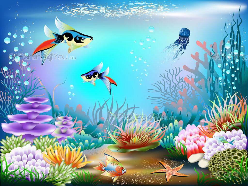 Lovely ... Sea Life   Wall Murals For Kids U0026 Posters Part 4