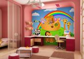 Wall Murals for Kids & Posters - Once upon a time there was a kind man called Noah who built an ark where he, his family and a couple of every animal species in the world stayed while...