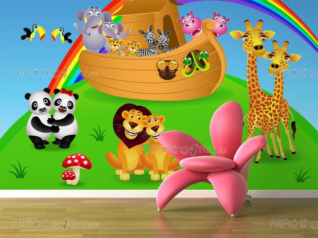 noah u0027s ark wall murals for kids mci1021en artpainting4you eu