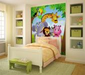 Wall Murals for Kids & Posters - Feed your kids' imagination with the help of a colourful wallpaper on a wall of their room. Let them go on a safari through faraway savannas and jungl...