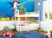 Wall Murals for Kids & Posters - Underwater wallpaper! Want to help your kids find a treasure? Decorate a wall of the kids room using a wall mural that you can opt to order as a poste...