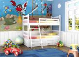 Wall Murals for Kids & Posters - What happened to those large pirate ships full of treasures that sank deep into the sea? They became amusement parks and homes for sea animals. This w...