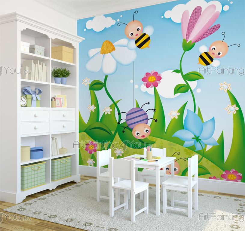 Fotomurales infantiles abejas for Fotomurales infantiles