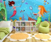 Mermaids - Wall Murals for Kids & Posters