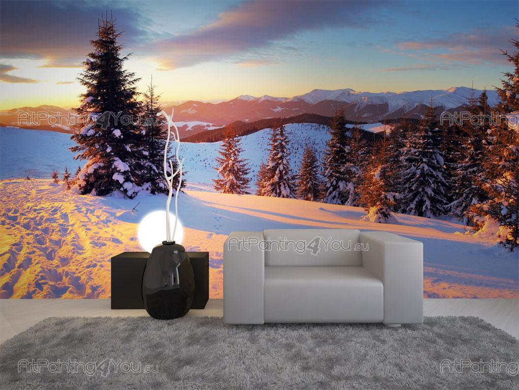 Fotomurales p sters nieve for Fotomurales naturaleza