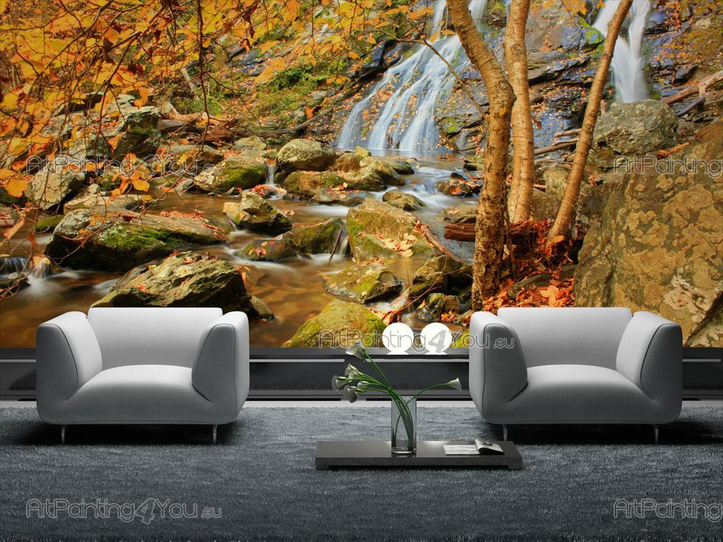 papier peint poster chute d 39 eau. Black Bedroom Furniture Sets. Home Design Ideas