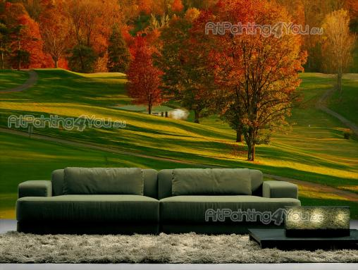 Golf Course - Fototapet Sport & Posters
