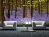 Purple Flowers - Wall Murals Nature Landscape & Posters