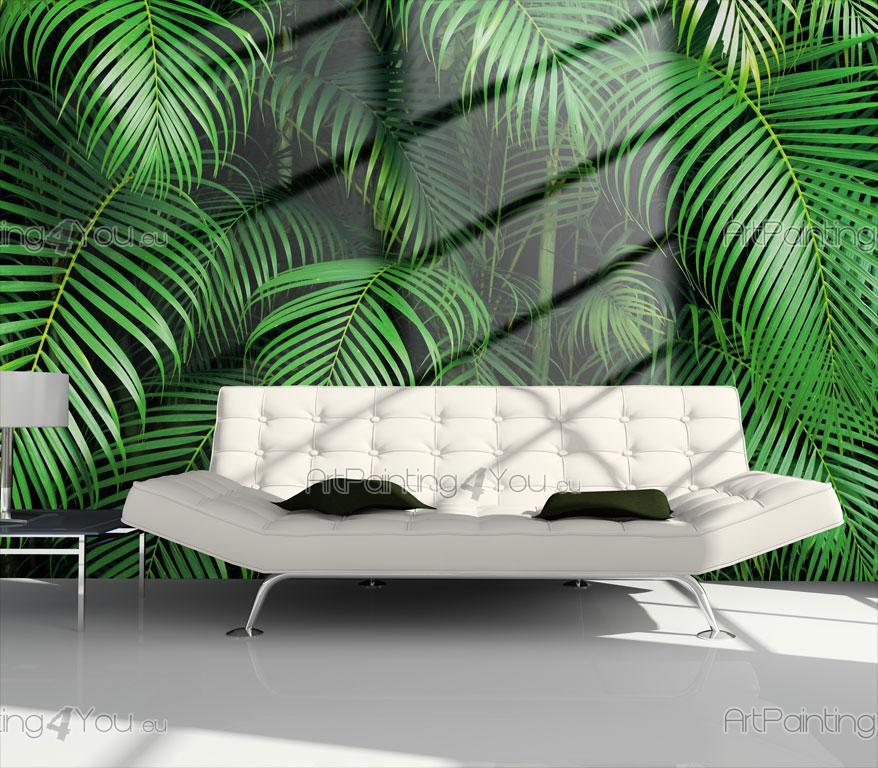 papier peint tropical poster impression sur toile palmier 806fr. Black Bedroom Furniture Sets. Home Design Ideas