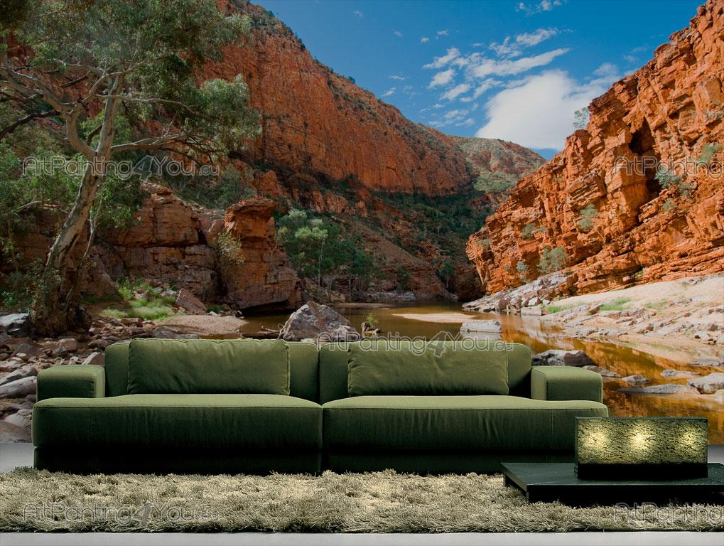 papier peint poster macdonnell ranges australie mcp1030fr. Black Bedroom Furniture Sets. Home Design Ideas
