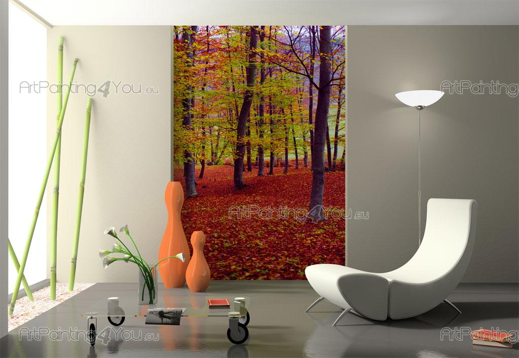 papier peint poster couleurs d 39 automne artpainting4you. Black Bedroom Furniture Sets. Home Design Ideas