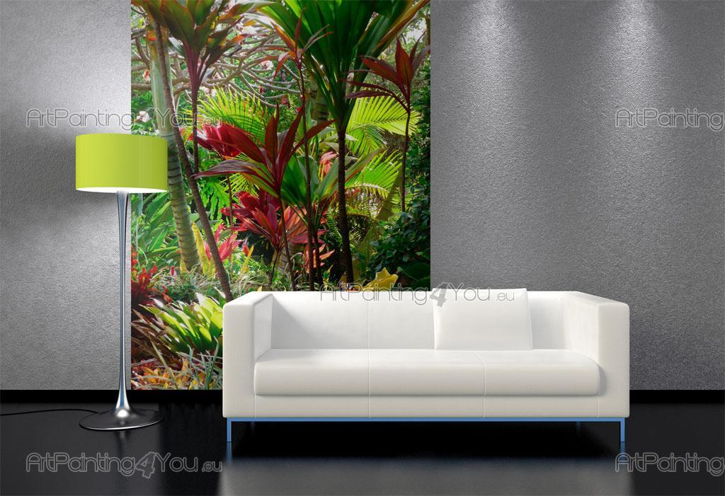 Wall Murals Amp Posters Custom Size Tropical Garden