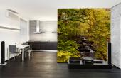 Autumn Waterfall - Wall Murals & Posters
