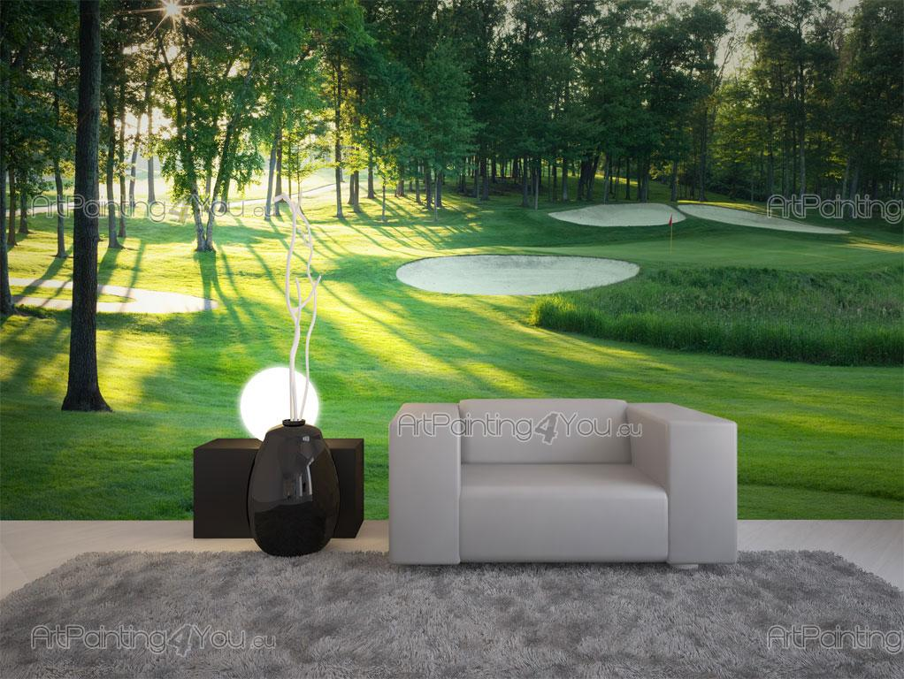 Wall Murals Amp Posters Golf Course Artpainting4you Eu