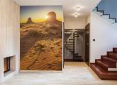 Monument Valley VS - Fotobehang Natuur Landschappen & Posters