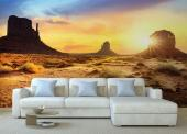 Monument Valley Utah - Sunset Wall Murals & Posters