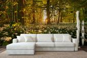 White Flowers - Wall Murals Nature Landscape & Posters