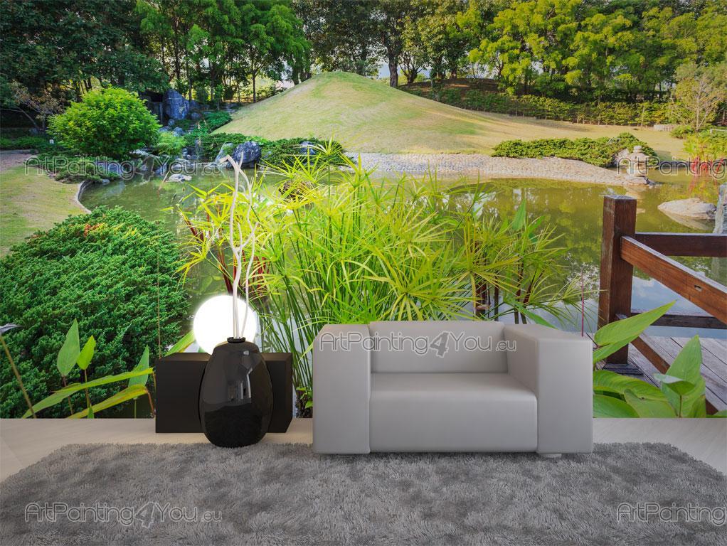 imagens jardim japones : imagens jardim japones: Parede Paisagens, Telas Decorativas & Posters Jardim Japonês (2033pt