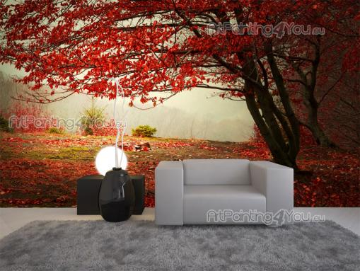 Autumn Leaves - Wall Murals Nature Landscape & Posters