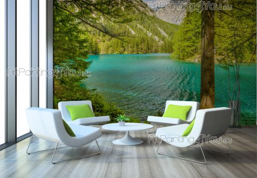 Green Lake - Wall Murals Nature Landscape & Posters