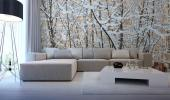 Snow - Black and White Wall Murals & Posters