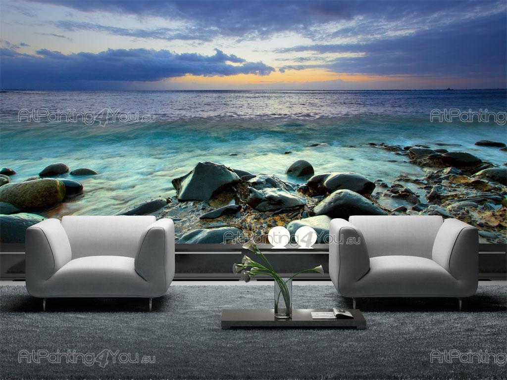 ... da Parati Fotomurali Paesaggi, Poster Murali & Stampe su Tela Spiaggia