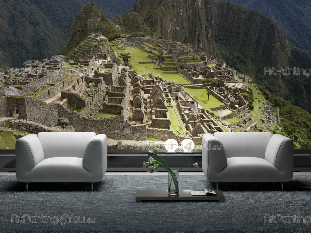 Fotomurales p sters machu picchu per artpainting4you for Fotomurales naturaleza