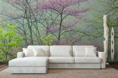 Wall Murals & Posters - Spring means a new start to deciduous trees with the blooming of flowers and new leaves. With this tree-themed wall mural in your living room or bedro...