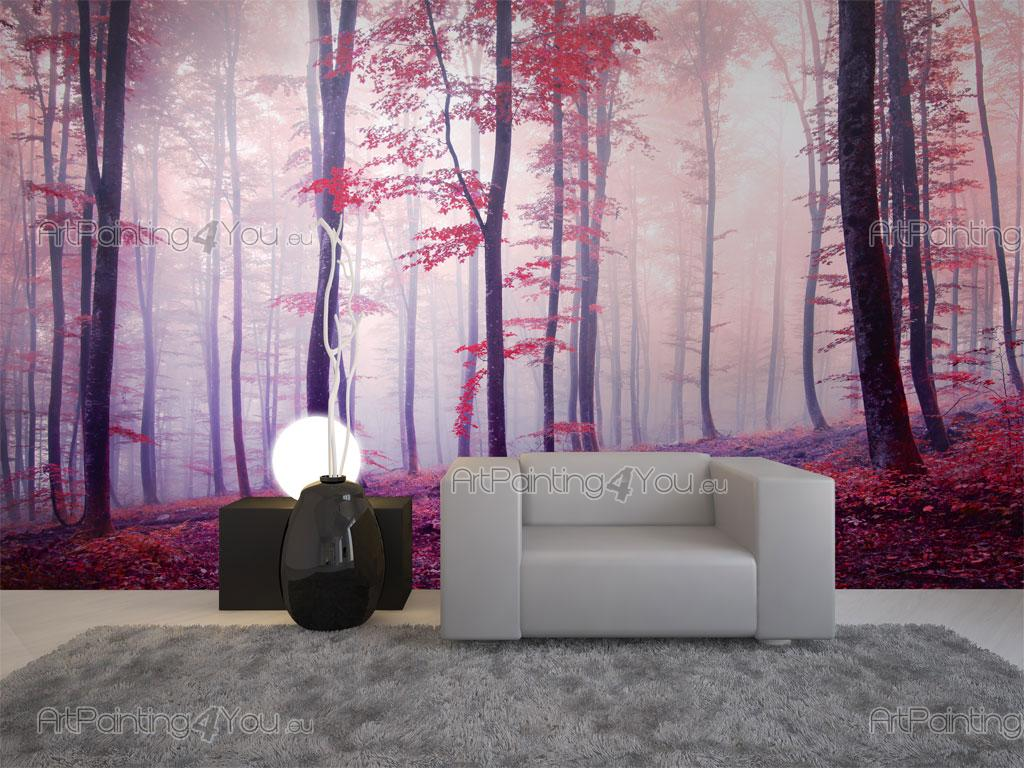 papier peint paysage poster impression sur toile automne for t 2543fr. Black Bedroom Furniture Sets. Home Design Ideas