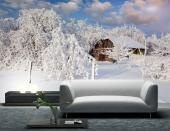 Snow Trees - Wall Murals Nature Landscape & Posters