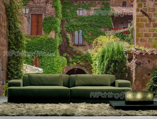 Wall Murals Nature Landscape & Posters - Have a wall mural or canvas in your living room or bedroom. This time, travel to the region of Tuscany in Italy, well-known for its long history, cult...