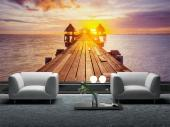 Paradise Beach in Thailand - Sunset Wall Murals & Posters