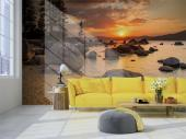 Lake Tahoe USA - Sunset Wall Murals & Posters