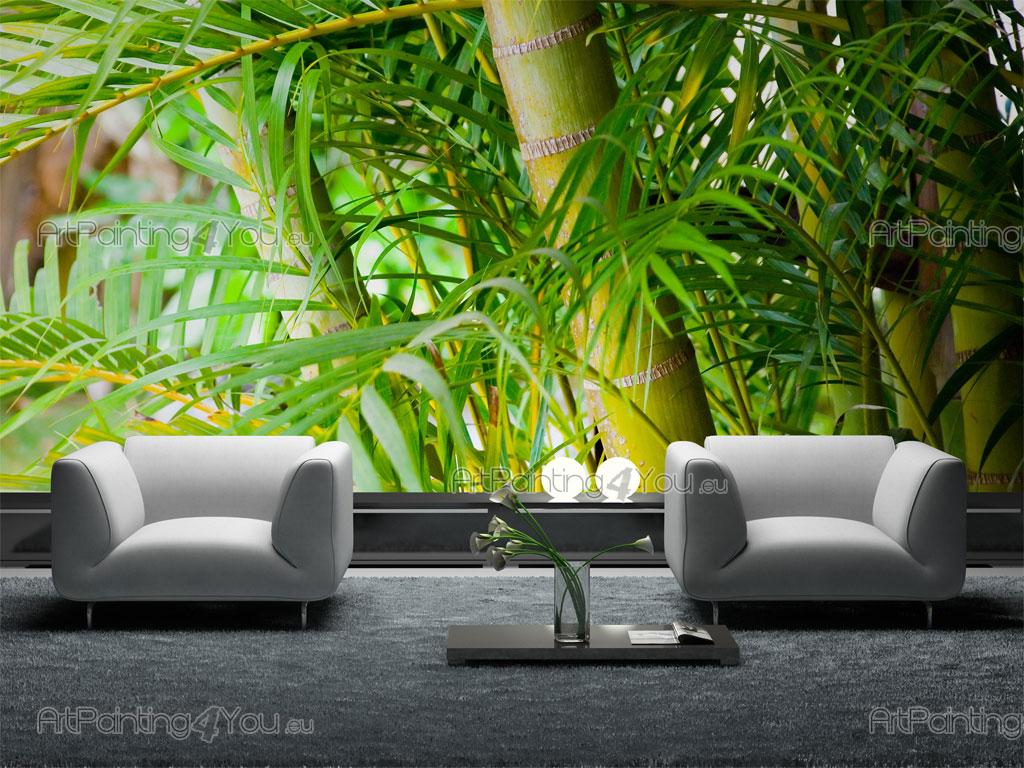 wall murals posters tropical bamboo mct1001en. Black Bedroom Furniture Sets. Home Design Ideas