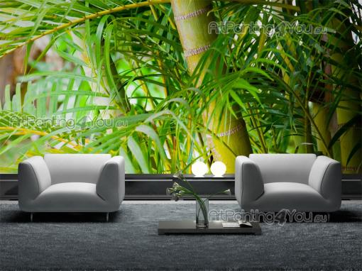 Tropical Bamboo - Tropical Beach Wall Murals & Posters