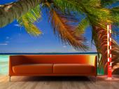 Palm Tree - Tropical Beach Wall Murals & Posters