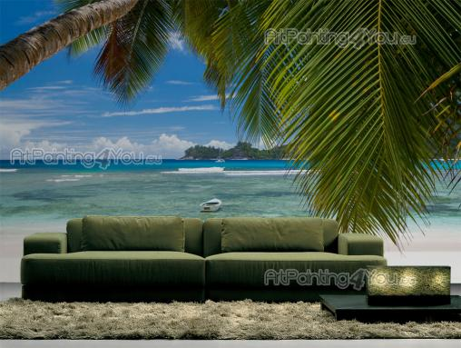 Wall Murals Tropical, Canvas Prints & Posters Palm Tree