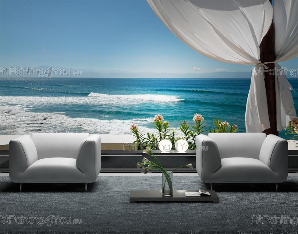 papier peint poster plage. Black Bedroom Furniture Sets. Home Design Ideas