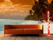 Tropical Island - Sunset Wall Murals & Posters
