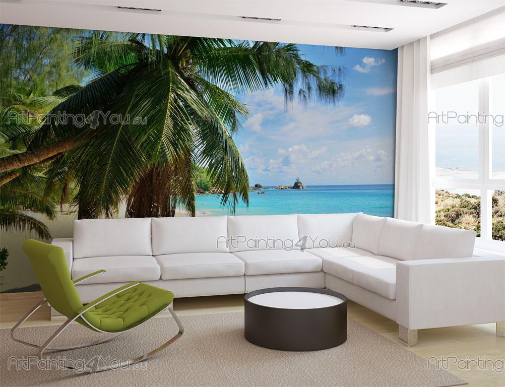 papier peint poster les seychelles mct1058fr. Black Bedroom Furniture Sets. Home Design Ideas