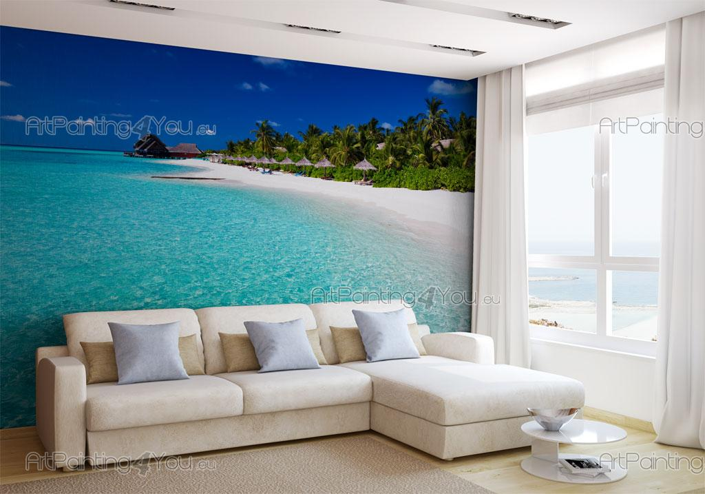 wall murals posters bora bora island artpainting4you. Black Bedroom Furniture Sets. Home Design Ideas