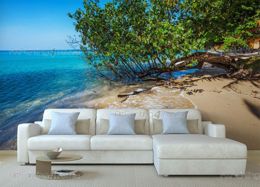 wall murals tropical canvas prints posters paradise