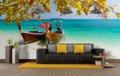 Paradise Beach in Thailand - Tropical Beach Wall Murals & Posters