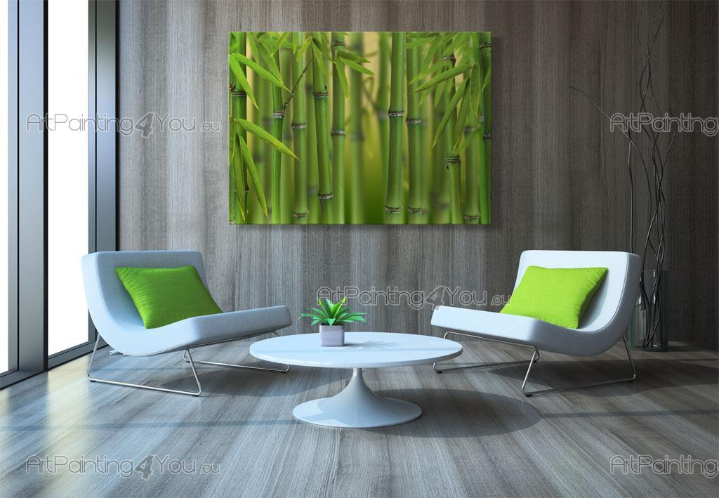 papier peint poster bambou for t. Black Bedroom Furniture Sets. Home Design Ideas