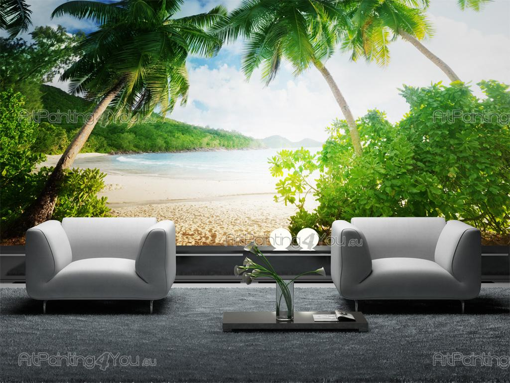 wall murals tropical canvas prints posters tropical
