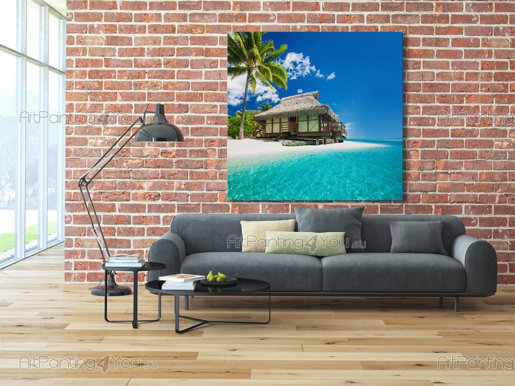 fototapet plakater tahiti strand. Black Bedroom Furniture Sets. Home Design Ideas