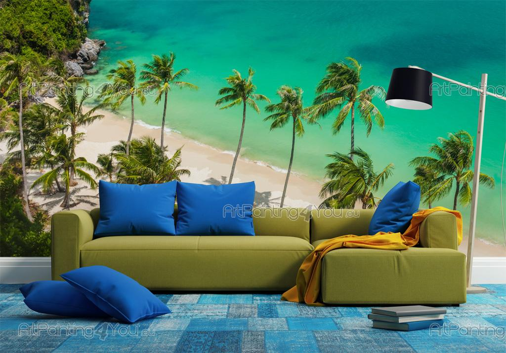 wall murals tropical canvas prints posters thailand