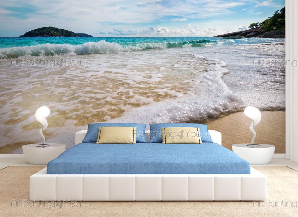 papier peint poster plage tha lande mct1106fr. Black Bedroom Furniture Sets. Home Design Ideas