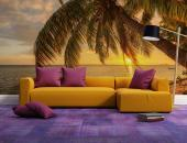 Sunset Seychelles Beach - Sunset Wall Murals & Posters